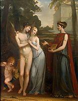 Innocence Preferring Love to Wealth, 1804, prudhon