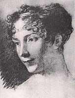 Josephine Bonaparte (study), c.1805, prudhon