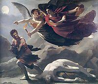 Justice and Divine Vengeance pursuing Crime, 1808, prudhon