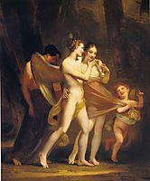 Love Seduces Innocence, Pleasure Entraps, and Remorse Follows, c.1809, prudhon