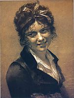 Portrait of Constance Mayer, 1804, prudhon