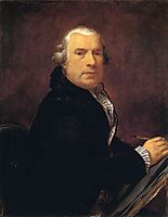 Portrait of François Devosge, prudhon
