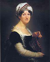 Portrait of Madame Péan de Saint-Gilles, 1822, prudhon