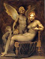 Venus, Hymen and Love, prudhon