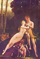 Venus und Adonis, c.1800, prudhon