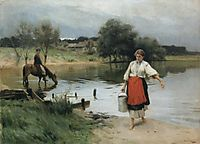 At the River, pymonenko