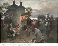 Easter vigil, pymonenko