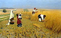 Harvest Gathering in Ukraine, pymonenko