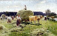 Haymaking, pymonenko