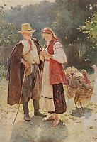 Idyll, 1908, pymonenko