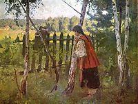 Jealousy , 1901, pymonenko