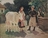 Meeting at the Well, pymonenko