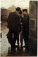 Conversation, c.1912, pymonenko