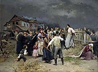 Victime of fanatisme, 1899, pymonenko