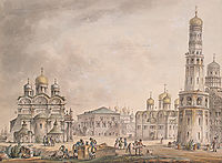Cathedral Square of the Moscow Kremlin, 1797, quarenghi