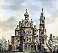 Church of the Assumption on Pokrovka, 1800, quarenghi