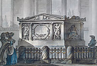 Design of Samuel Greig-s tomb in Tallinn, c.1790, quarenghi