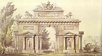 Design of a Triumphal Arch, 1814, quarenghi