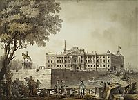 View of Saint Michael-s Palace, 1801, quarenghi