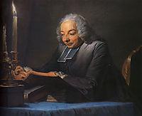 Abbe Jean-Jacques Huber, 1742, quentindelatour