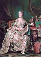 Jeanne Antoinette Poisson, Marquise de Pompadour, quentindelatour