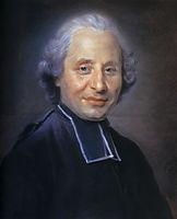Portrait of abbot, quentindelatour