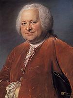 Portrait of Alexandre-Jean-Joseph Le Riche de La Pouplinière , quentindelatour