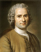 Portrait of Jean Jacques Rousseau , quentindelatour