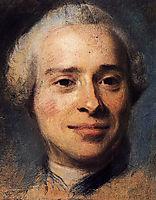 Portrait of Jean Le Rond d-Alembert , 1753, quentindelatour