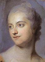 Portrait of Madame de Pompadour, c.1748, quentindelatour
