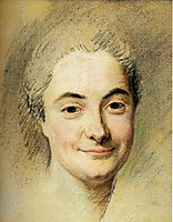 Portrait of Mademoiselle Dangeville, quentindelatour