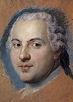 Preparation to the portrait of dauphin Louis de France, son of Louis XV, quentindelatour