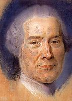 Study for portrait of unknown man, quentindelatour