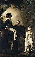 The Drummond Children, c.1809, raeburn