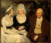 John Johnstone, Betty Johnstone, and Miss Wedderburn, c.1795, raeburn