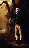 Portrait of Alexander Keith of Ravelston, Midlothian, raeburn