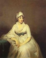 Portrait of Isabella McLeod, Mrs. James Gregory, c.1798, raeburn