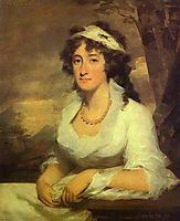 Portrait of Janet Dundas, c.1790, raeburn