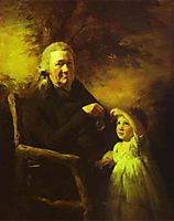 Portrait of John Tait and His Grandson, c.1793, raeburn