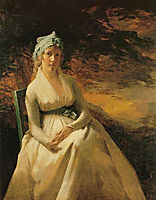 Portrait of Mrs. Andrew, c.1795, raeburn
