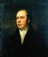 Portrait of The Reverend John Thomson, Minister of Duddingston, raeburn