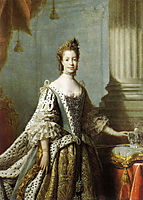 Charlotte Sophia of Mecklenburg-Strelitz, 1762, ramsay