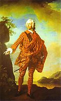 Norman The Red Man, 22nd Chief of MacLeod, 1747, ramsay