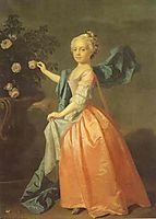 Portrait of Agnes Murray Kynnynmond, 1739, ramsay