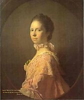 Portrait of Anne Brown, 1763, ramsay