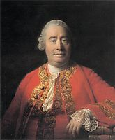 Portrait of David Hume, 1766, ramsay