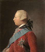 Portrait of King George III , ramsay