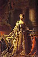Portrait of Queen Charlotte, 1762, ramsay
