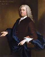 Portrait of Sir John Hynde Cotton, 3rd BT, 1740, ramsay