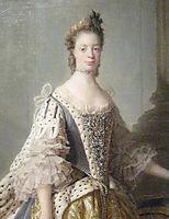 Portrait of Sophia Charlotte of Mecklenburg-Strelitz, wife of King George III, ramsay